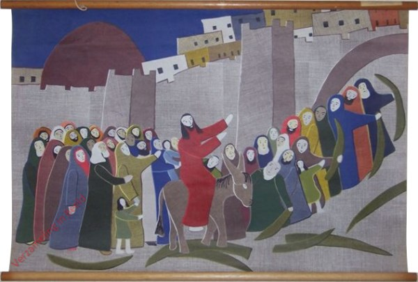 I-5 - Jezus' intocht in Jeruzalem